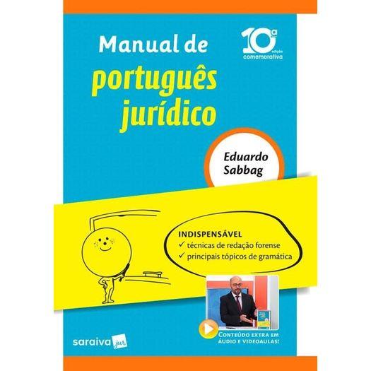 Manual de Portugues Juridico - Saraiva
