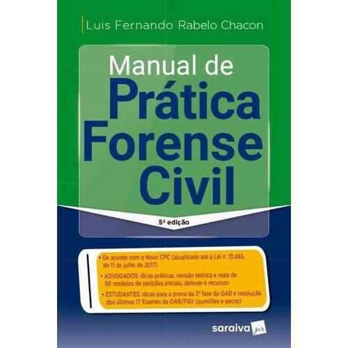 Manual de Prática Forense Civil - 5ª Ed. 2018