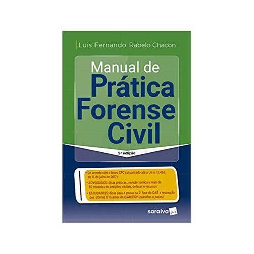 Manual de Prática Forense Civil 5ªed. - Saraiva