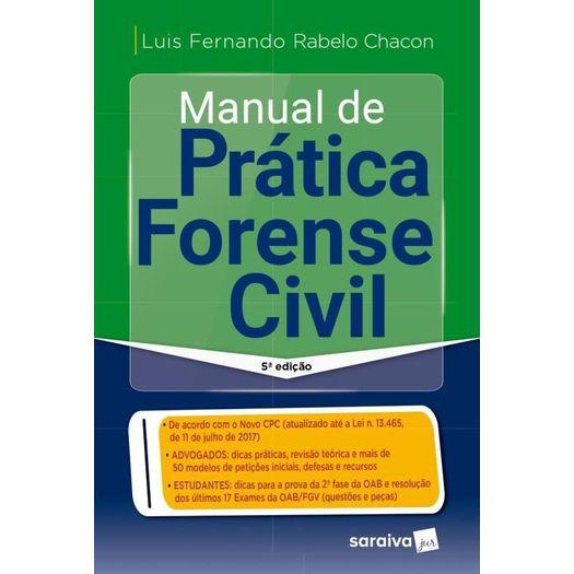 Manual de Pratica Forense Civil - Saraiva - 5ed