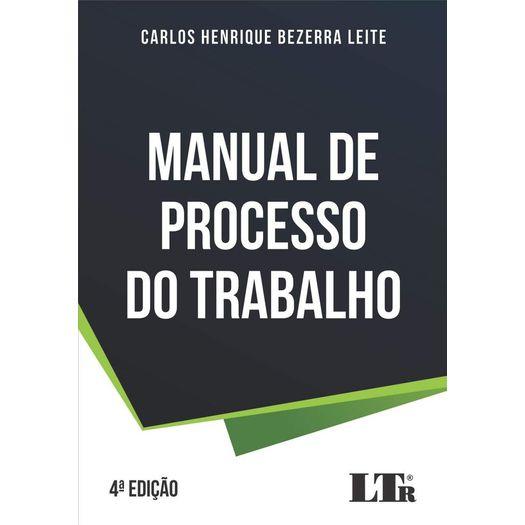 Manual de Processo do Trabalho - Ltr