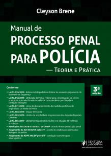 Manual de Processo Penal para Polícia (2018)