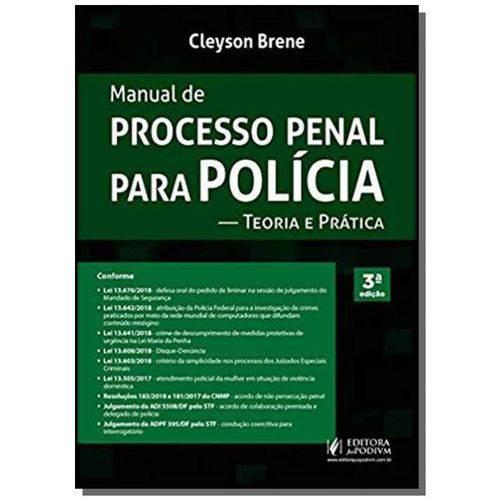 Manual de Processo Penal para Polícia