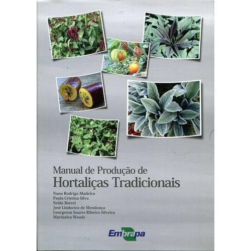 Manual de Produção de Hortaliças Tradicionais