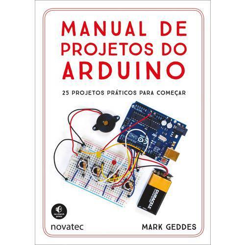 Manual de Projetos do Arduino - Novatec
