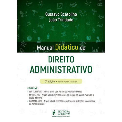 Manual Didatico de Direito Administrativo - Juspodivm