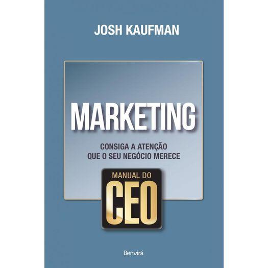 Manual do Ceo - Marketing - Benvira