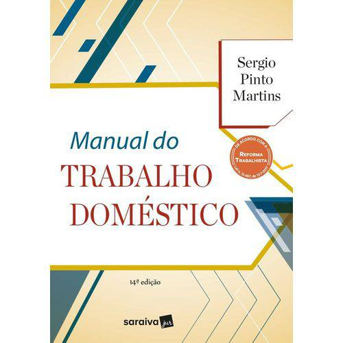 Manual do Trabalho Domestico - Saraiva