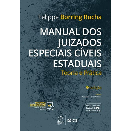 Manual dos Juizados Especiais Civeis Estaduais - Atlas