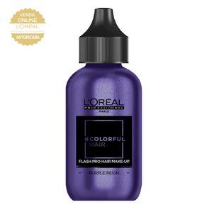 Maquiagem para Cabelo L'Oréal Professionnel - Colorful Hair FlashPro Purple Reign