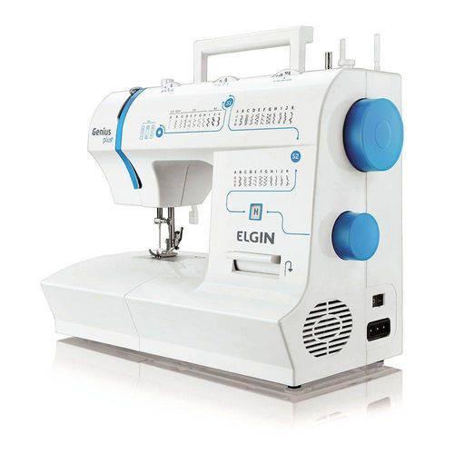 Máquina Costura Genius Plus Jx-4035 Elgin