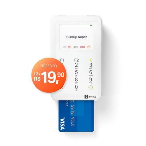 Máquina de Cartão SumUp Super Débito e Crédito
