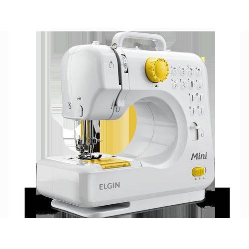 Máquina de Costura Elgin Mini Bl-1004 Sem Gabinete - Branca - Bivolt