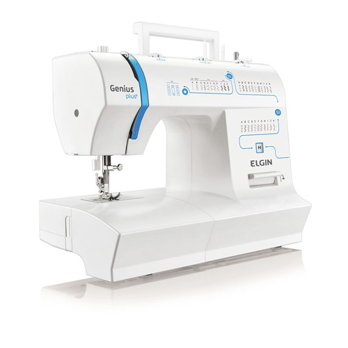 Máquina de Costura Genius Plus JX-4035 Elgin - 220V