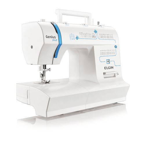 Maquina de Costura Genius Plus Jx 4035 Elgin 127v