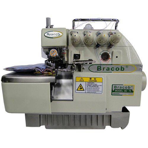 Máquina de Costura Interlock Industrial BC75,2 Agulhas,5 Fios,5000PPM - Bracob Bivolt Bivolt Bivolt Branco Branco Branco Único Único Único