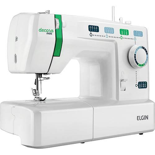 Máquina de Costura Portátil Jx2011 Decora Mais Elgin - Branco