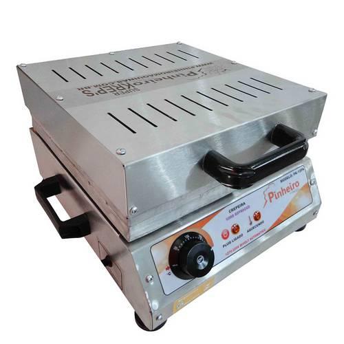 Máquina de Crepe Suíço de 12 Cavidades Elétrica Modelo Pk-12p Pinheiro