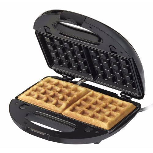 Máquina de Waffles Antiaderente WF780 Black+Decker