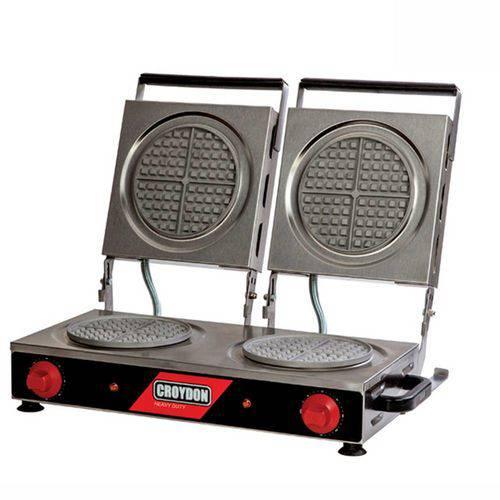 Máquina de Waffles Redonda Dupla Mwrd - Croydon