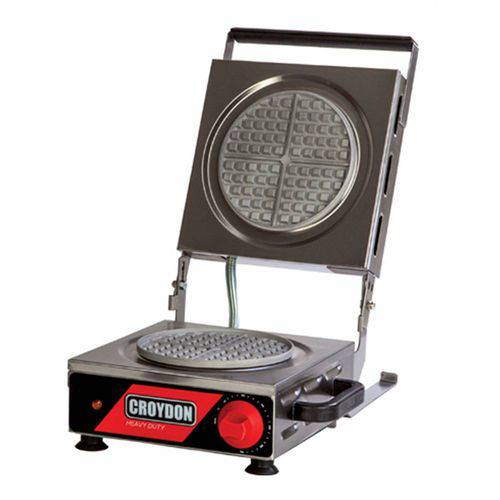 Máquina de Waffles Redonda Simples - Croydon Mwrs