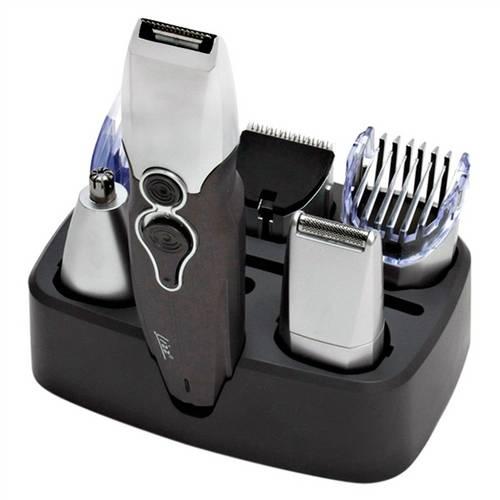Maquina e Aparador 6 em 1 Lizz Total Groom para Cabelo Barba e Nariz