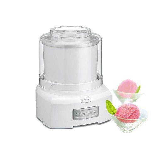 Máquina para Sorvete Branca Cuisinart -220v Ice-21