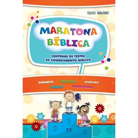 Maratona Bíblica Manual Prático para o Culto Infantil Volume 2 Copy