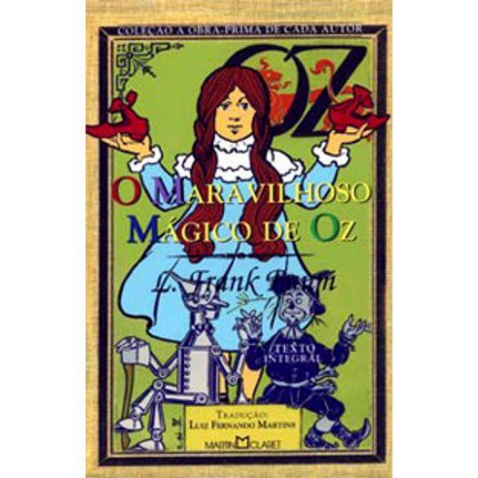Maravilhoso Magico de Oz, o - 282 - Martin Claret