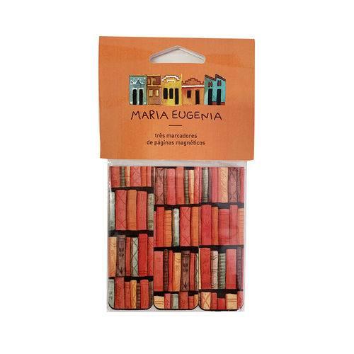 Marcador de Página - Maria Eugênia - Livros
