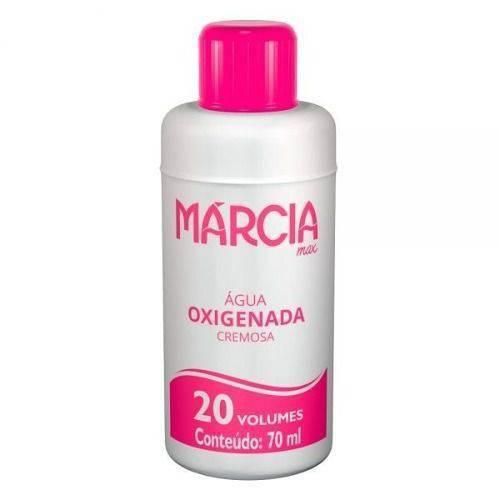 Márcia Água Oxigenada 20vol Cremosa 70ml (kit C/03)