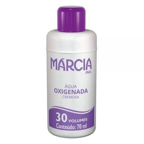 Márcia Água Oxigenada 30vol Cremosa 70ml (kit C/03)