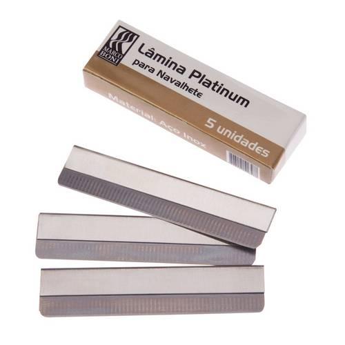 Marco Boni - Lâmina Platinum P/ Navalhetes - 9503-B