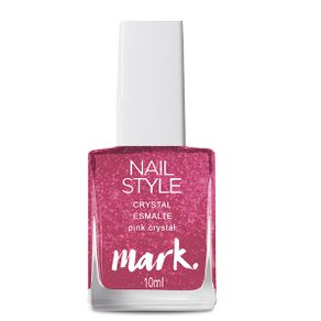 Mark. Crystal Esmalte 10ml - Pink Crystal