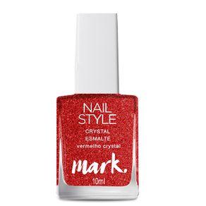 Mark. Crystal Esmalte 10ml - Vermelho Crystal