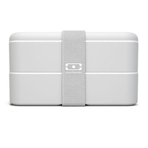 Marmita Lunchbox Mb Original Cinza Monbento
