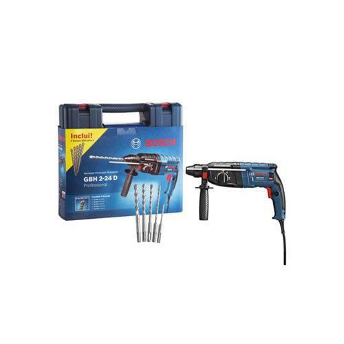 Martelete Perfurador com Sds-plus 820w 110v Gbh 2-24 D Professional Azul e Preto