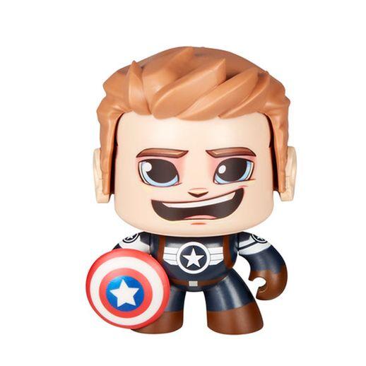 Marvel Mighty Muggs Captão America - Hasbro