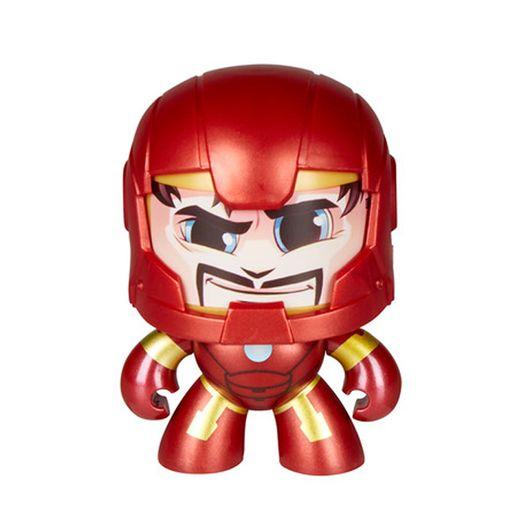 Marvel Mighty Muggs Homem de Ferro - Hasbro
