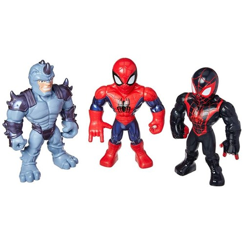 Marvel Super Hero Adventures - Figuras Mega Mighties E4842 - Hasbro - HASBRO
