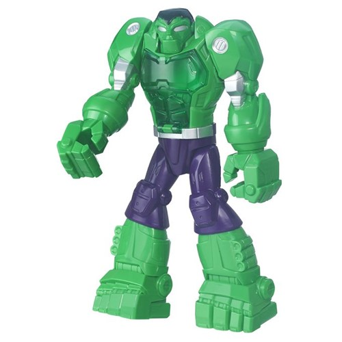 Marvel Super Hero Adventures - Mega-Armadura Hulk B6018 - HASBRO