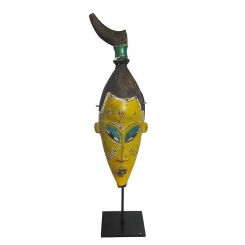 Máscara Africana Amarela