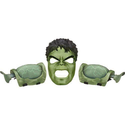Máscara Avengers com Acessórios Hulk B0428 - Hasbro