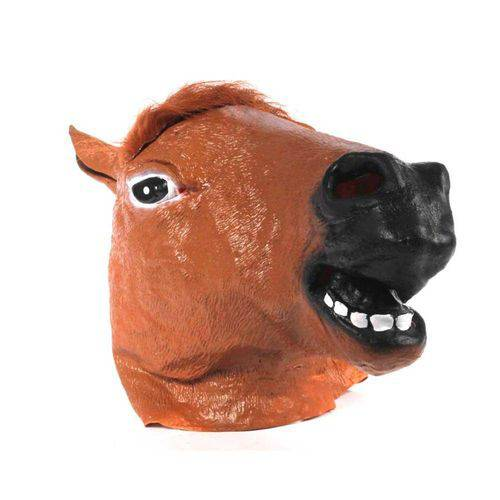 Máscara Cabeça de Cavalo