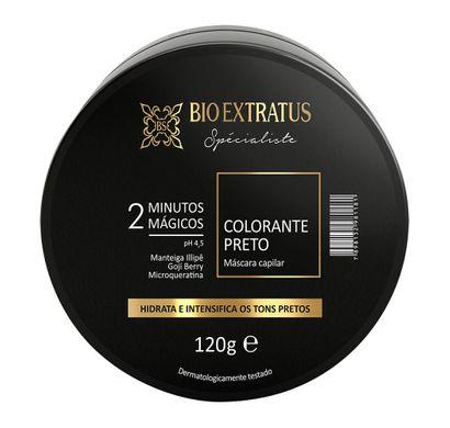 Máscara Capilar Colorante Preto Spécialiste 120g - Bio Extratus