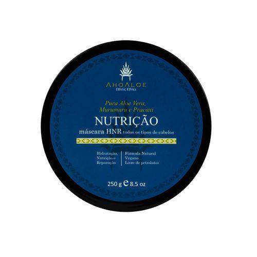 Máscara Capilar Natural Multifuncional Nutrição 250g – AhoAloe