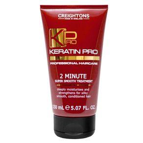 Máscara Creightons Keratin Pro 2 Minutes Super Smooth de Hidratação 150ml