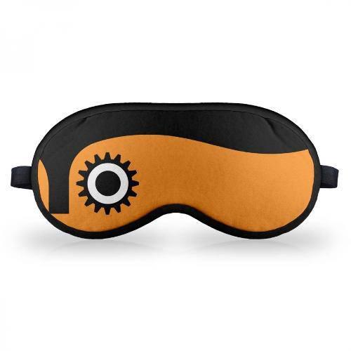 Máscara de Dormir - Clock Orange