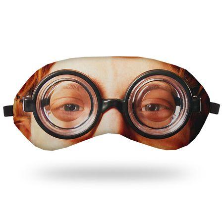 Máscara de Dormir Óculos Nerd