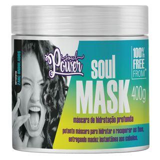 Máscara de Hidratação Profunda Soul Power - Soul Mask 400g